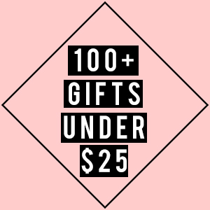100 gifts under $25