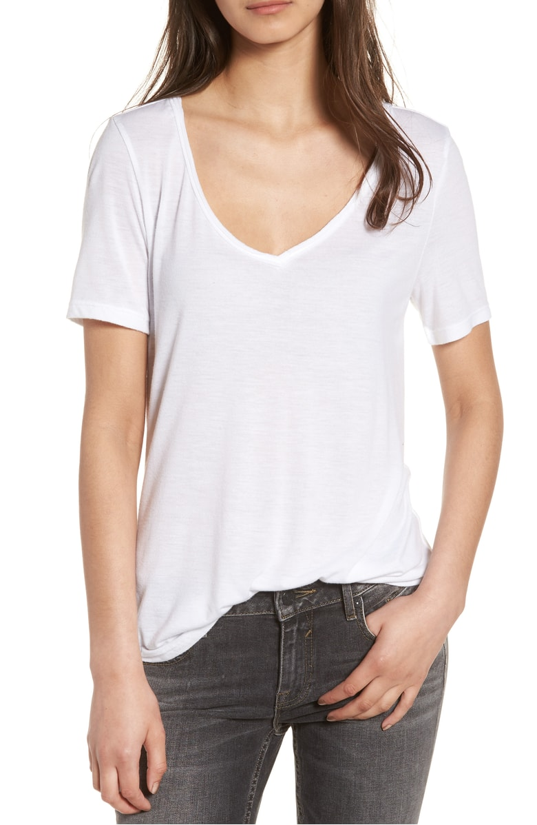 white T-Shirt for $12 at Nordstrom