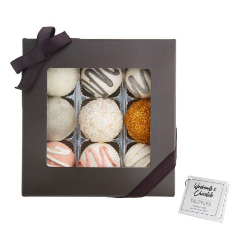 Spoil her with these chocolate truffle inspired bath bombs for her under $55