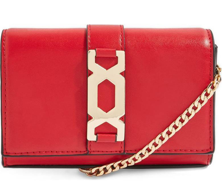 Cute red handbag for valentines day outfit