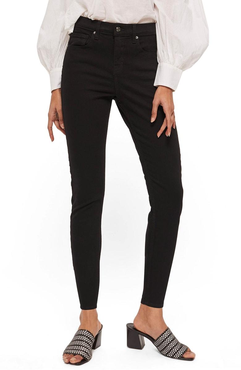 Black comfy topshop pants nordstrom anniversary sale