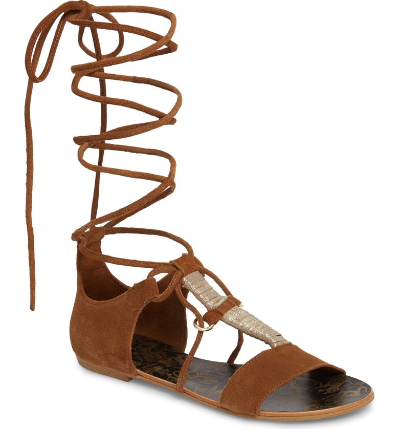 Free People Fiji Wrap Around Sandal