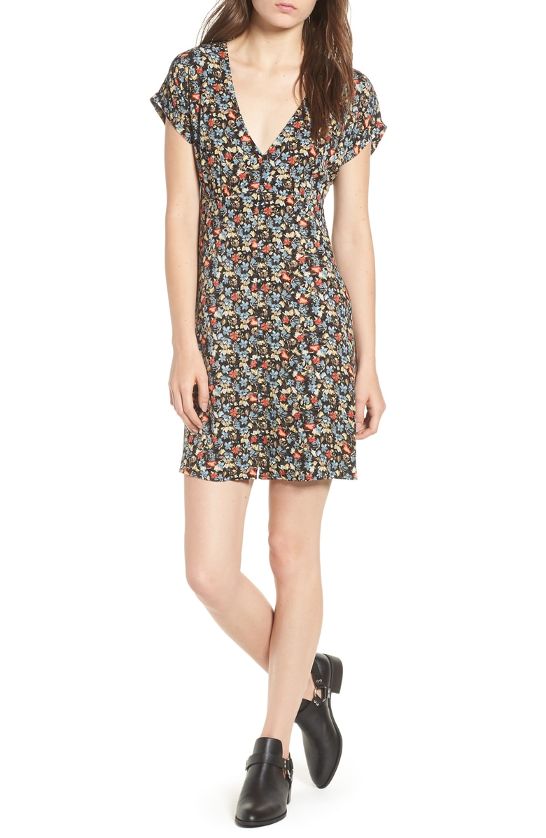 Nordstrom anniversary under $50 floral dress