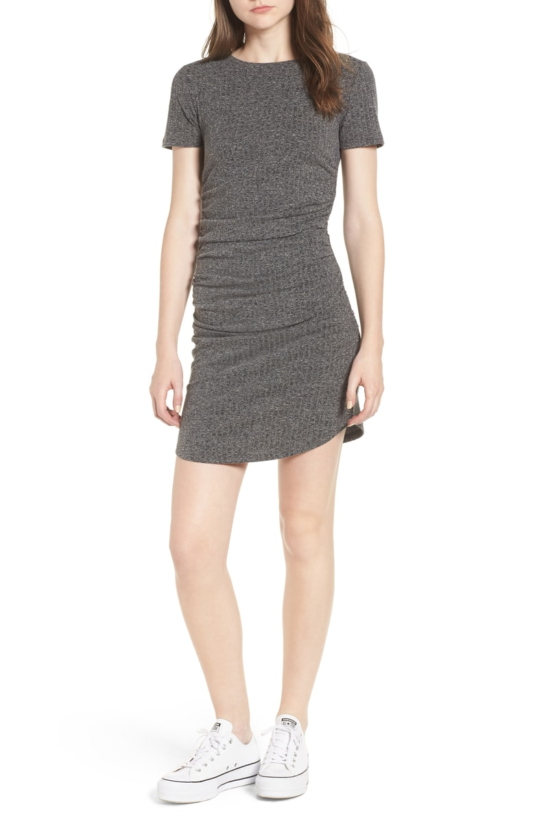 Under $50 Ruched Body Con Dress