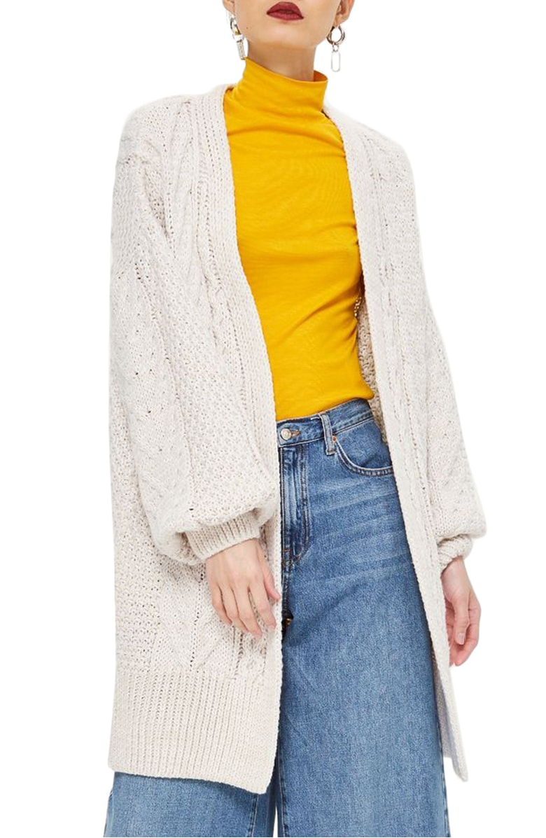white cable knit cardi under $50 Anniversary Sale 2018