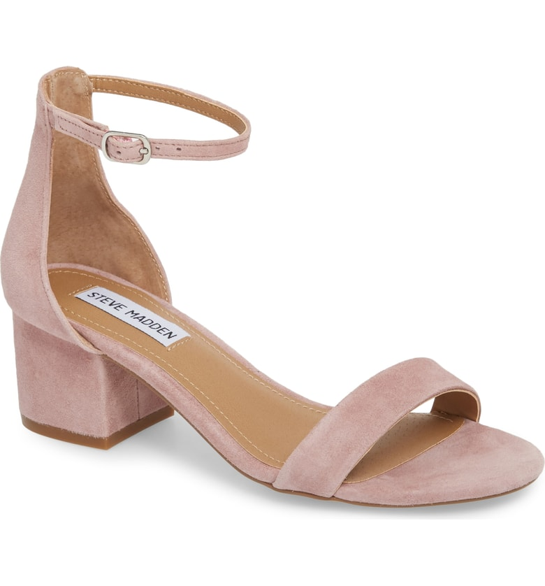 low block heel strap sandal for summer