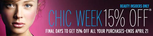 Sephora's BIG sale!