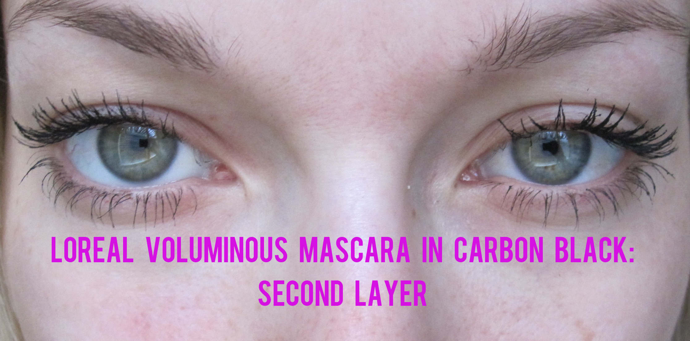 L Oreal Voluminous Carbon Black Mascara Review Makeupalley ...