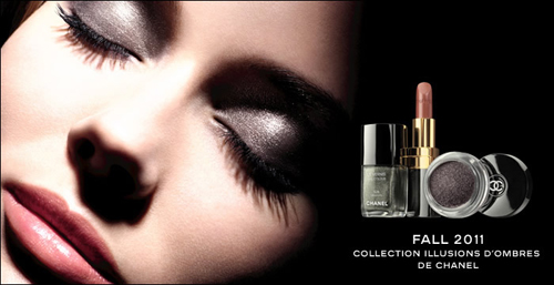 Chanel Fall 2011 Makeup Collection