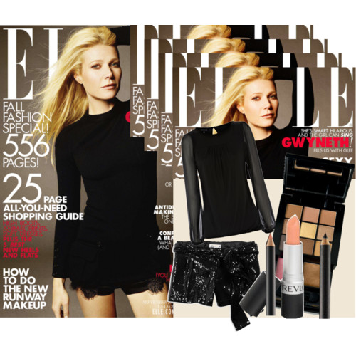 Get the Look: Gwyneth Paltrow on Elle Magazine