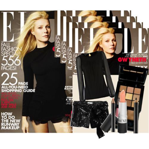 Get the Look: Gwyneth Paltrow on Elle Magazine