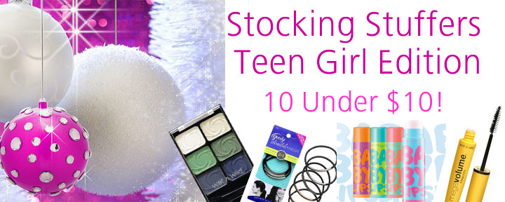stockingstuffersforteengirls Stocking Stuffers For Your Teen Girl: 10 Under $10!