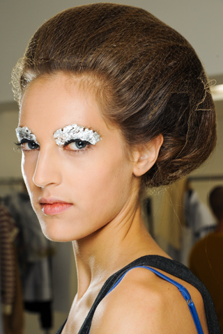 Fendi Luca Cannonieri Silver 2012 Top 7 Beauty Trends