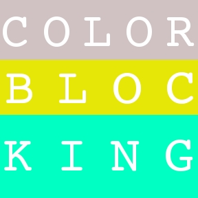 DIY Colorblock Bag
