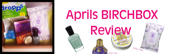 Aprils birchbox Review Aprils Birchbox Review Pandamonia!