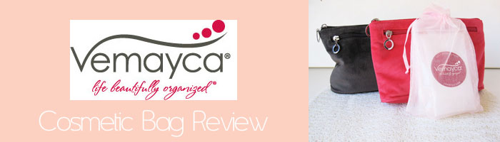 vemayca Review: Vemayca Washable Cosmetic Bag
