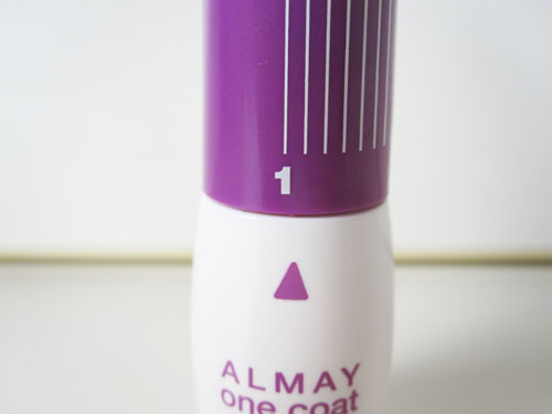 Almay Review picture 2 Almay One Coat Dial Up Mascara Review