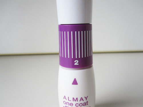 Almay Review picture 4 Almay One Coat Dial Up Mascara Review