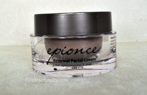 Epionce Renewal Facial Cream Review Review: Epionce Skincare