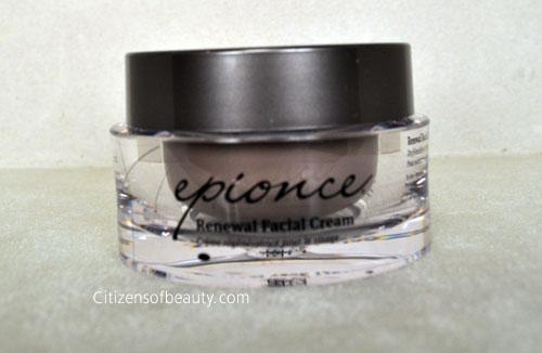 Epionce Renewal Facial Cream Review Review: Epionce Skincare