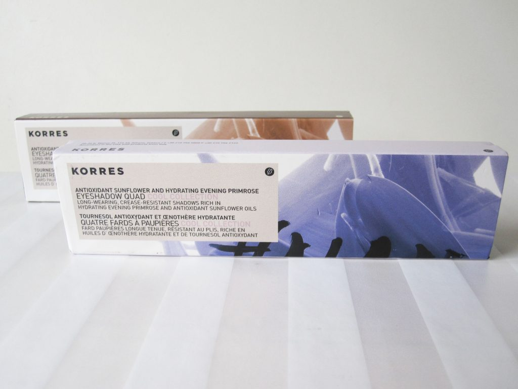 Korres Review 2 1024x768 Review: Korres Eyeshadow Quads In Natural And Cool Collection