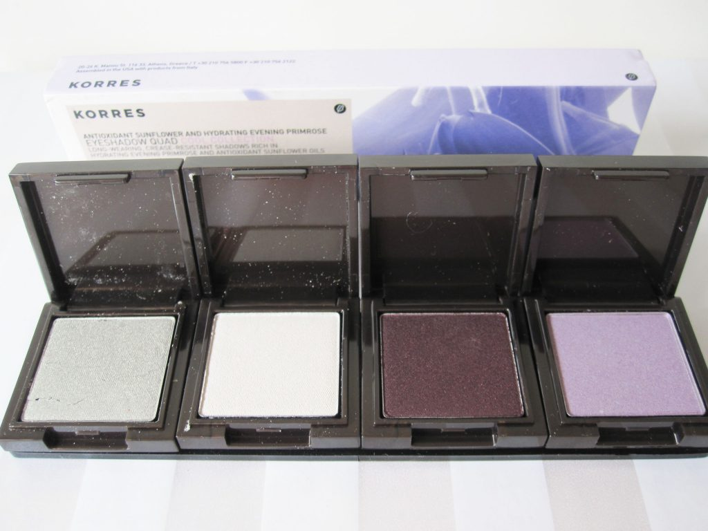 Korres Review 3 1024x768 Review: Korres Eyeshadow Quads In Natural And Cool Collection