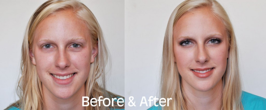 Brooke Schwab Before After 1024x427 Makeup Monday  Back To School