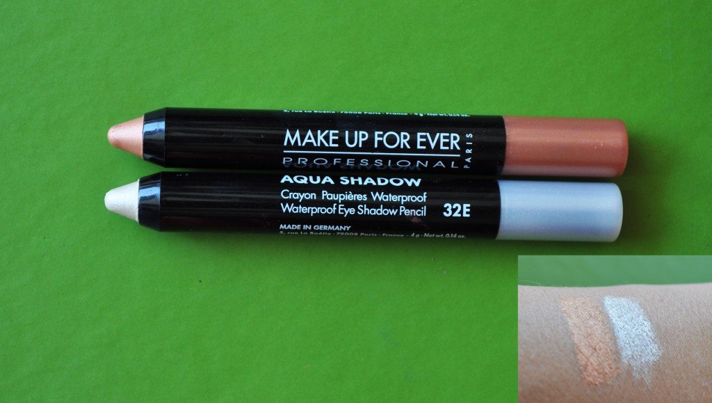 Makeup Forever Aqua Shadows Swatch 1 1024x579 Waterproof Cosmetics Top Picks  On Portlands, AMNW