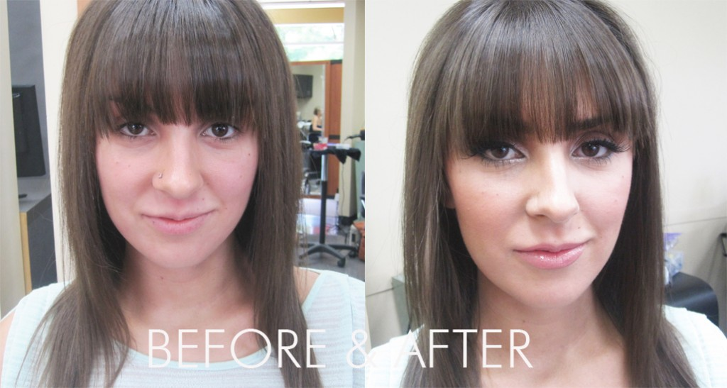 Natalie P Before After 1024x547 Makeover Monday  Kim Kardashian Inspired