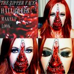 Makeover Monday: Halloween Edition- Zipper Face
