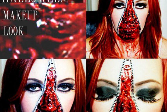 Makeover Monday: Halloween Edition- Zipper Face - Citizens of Beauty