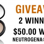 GIVEAWAY-2 Winners of $50.00 Worth Neutrogena® Products