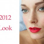 Bronze + Red- Holiday 2012 Makeup Look