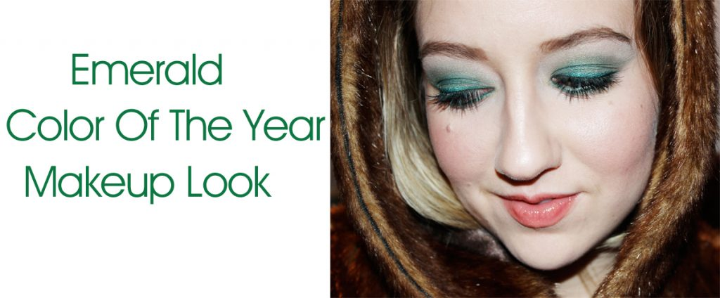 Emerald Makeup Look 2 1024x424 Emerald Makeup Look: 2013 Color of the Year