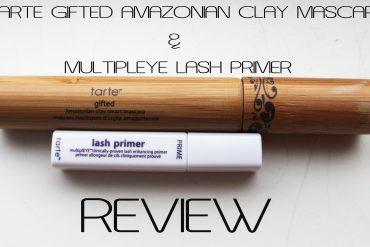 TARTE Gifted Amazonian Clay Mascara