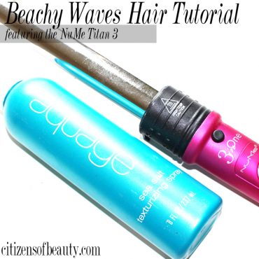 How to get beachy waves in your hair.