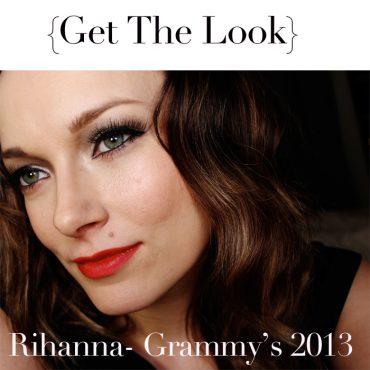 Rhianna_Grammy's_2013