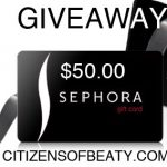 Giveaway: $50.00 Sephora Gift-card and Elizabeth Jewelry necklace!