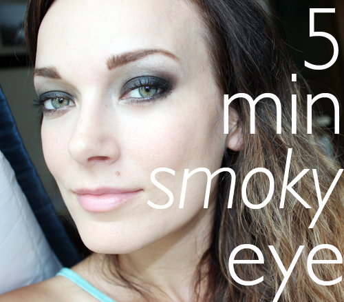 5 Minute Smoky Eye Tutorial!