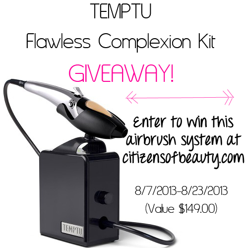 Giveaway! Temptu Flawless Complexion Kit