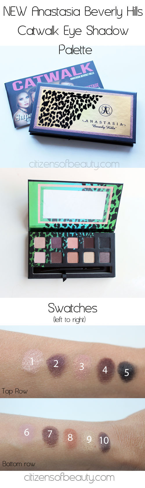 Anastasia Beverly Hills Catwalk Eye Shadow Palette