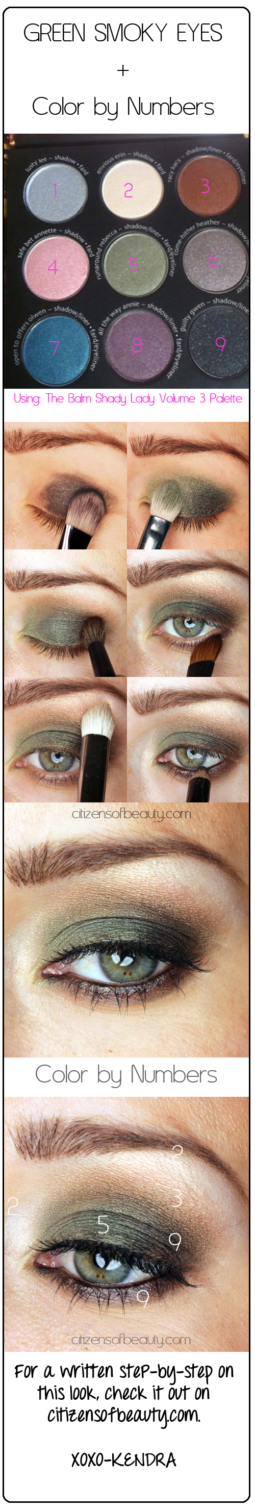 smoky-green-eyes-makeup