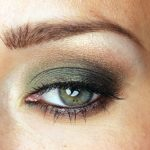 Smoky Green Eyes Makeup + Color by Numbers
