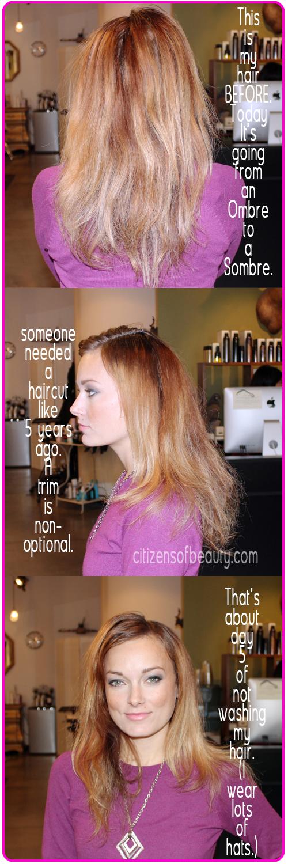 Kelly_peach_hair_before