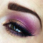 Radiant Orchid Eyeshadow Look