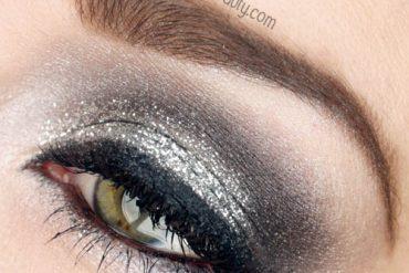 new years eve glitter eye