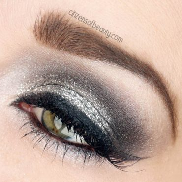 new years eve glitter eye