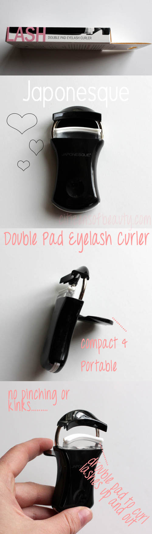 Japonesque Double Pad Eyelash Curler Review