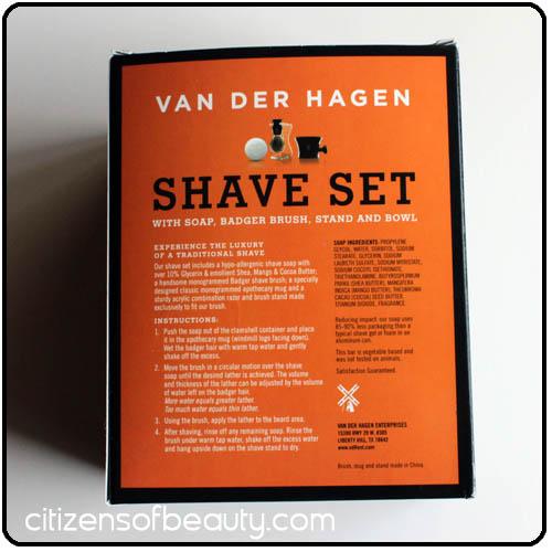 Van Der Hagen Shave Set1