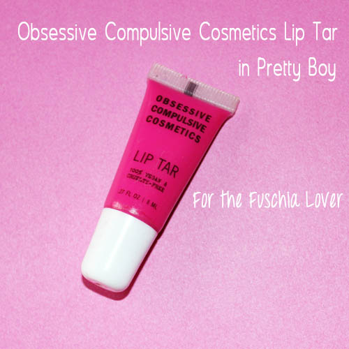 Obsessive compulsive cosmetics lips tar in pretty boy